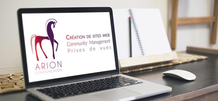 Arion Communication, création de site web, community management et prises de vues