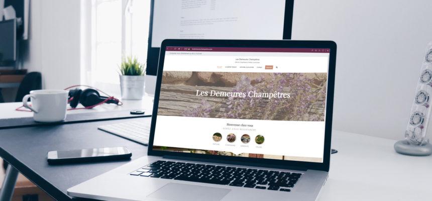 Site internet avec réservation en ligne