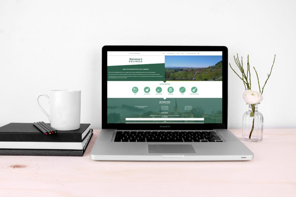 création d'un site internet pour une mairie